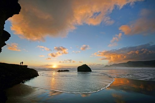 dragannz Evening at Piha