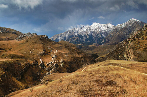dragannz Zima u Juznim Alpima