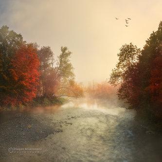 dramil Jesenje jutro na rijeci