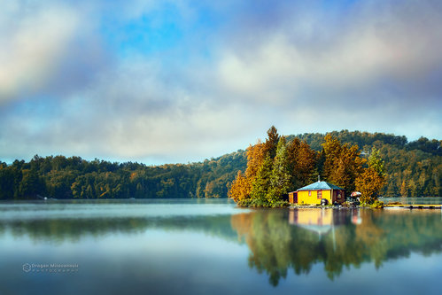 dramil Mala kuća na jezeru