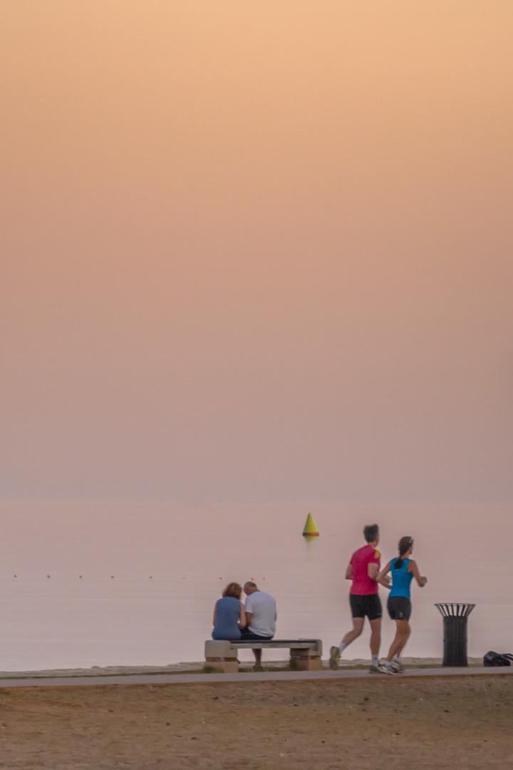 Na vodi: jutro