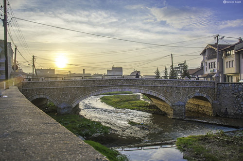 ermin1988 Most i zalazak sunca