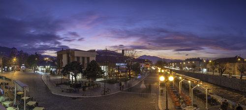 ermin1988 Panorama zalaska sunca u Prizrenu
