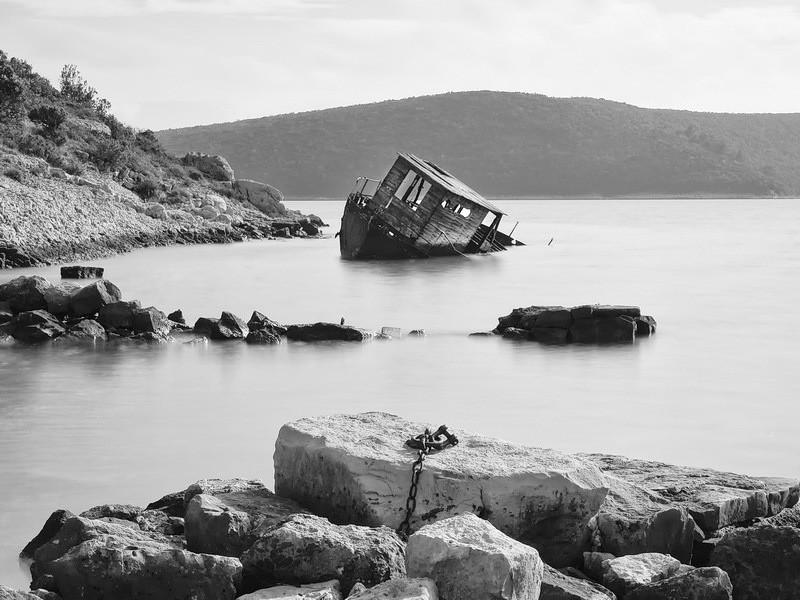 Abandoned Little Boat