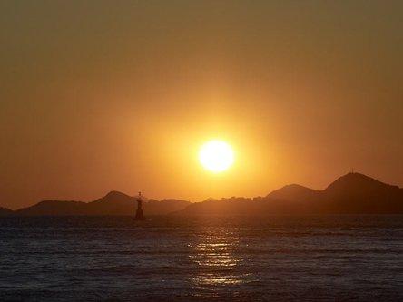 felixthecat6 Cavtat Setting Sun
