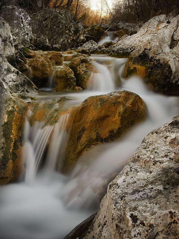 Na potoku Argilla