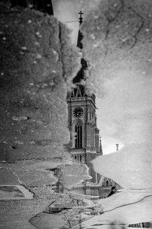 freetimephoto BW Katedrala
