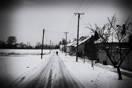 freetimephoto Zima na selu