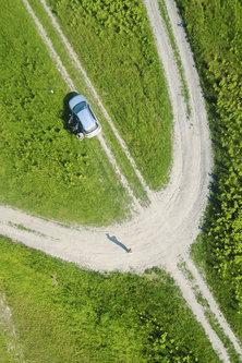 gezaIII Auto dronoportret