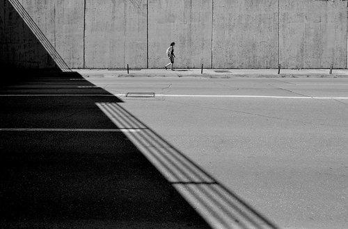 goran svjetla strana ulice...