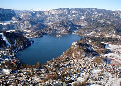 halex Bledsko jezero iz balona