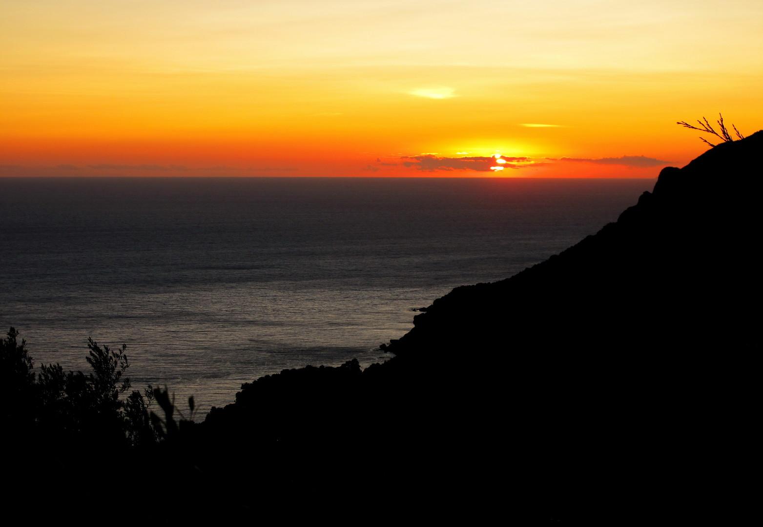 Zalazak Sunca na Krfu