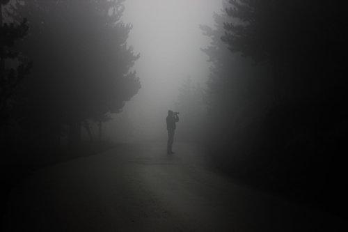 kiddo covek u magli