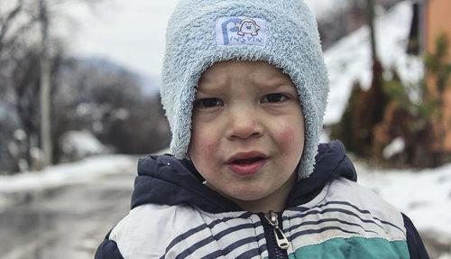 kiddo decak na snegu
