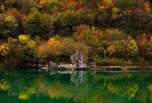 kola73 Jesen na jezeru