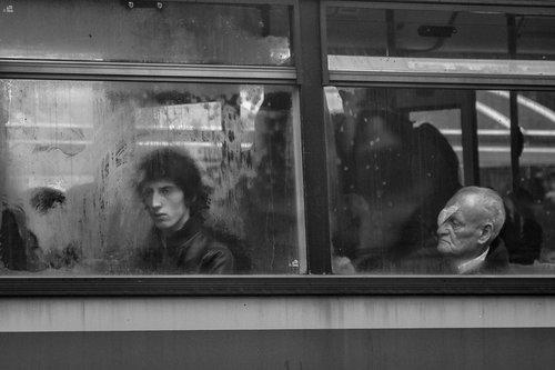 kosic U autobusu.