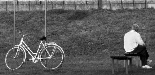 kruklindete bicikl i covek