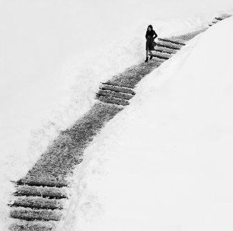 lapce Stepenice u snegu Dragan Lapcevic