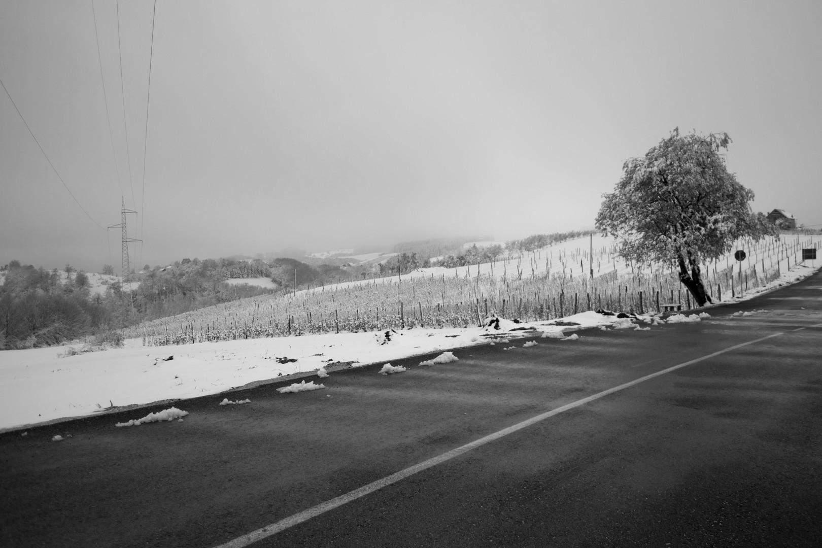 aprilski sneg