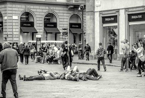 macvanin turisti u Firenci
