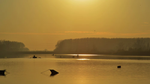 marjanac Zalazak sunca na Dunavu