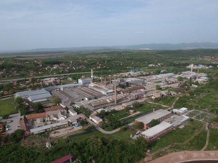 milanovic986 Pogled na Srpsku Fabriku Stakla u Paracinu