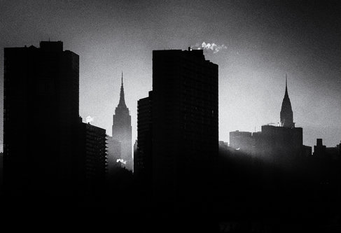 milantomin Foggy NY Sunset