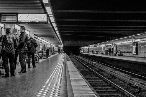 mmaria Brussels metro