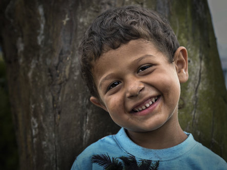 nagual Jadranko. Little homeless smiling faces