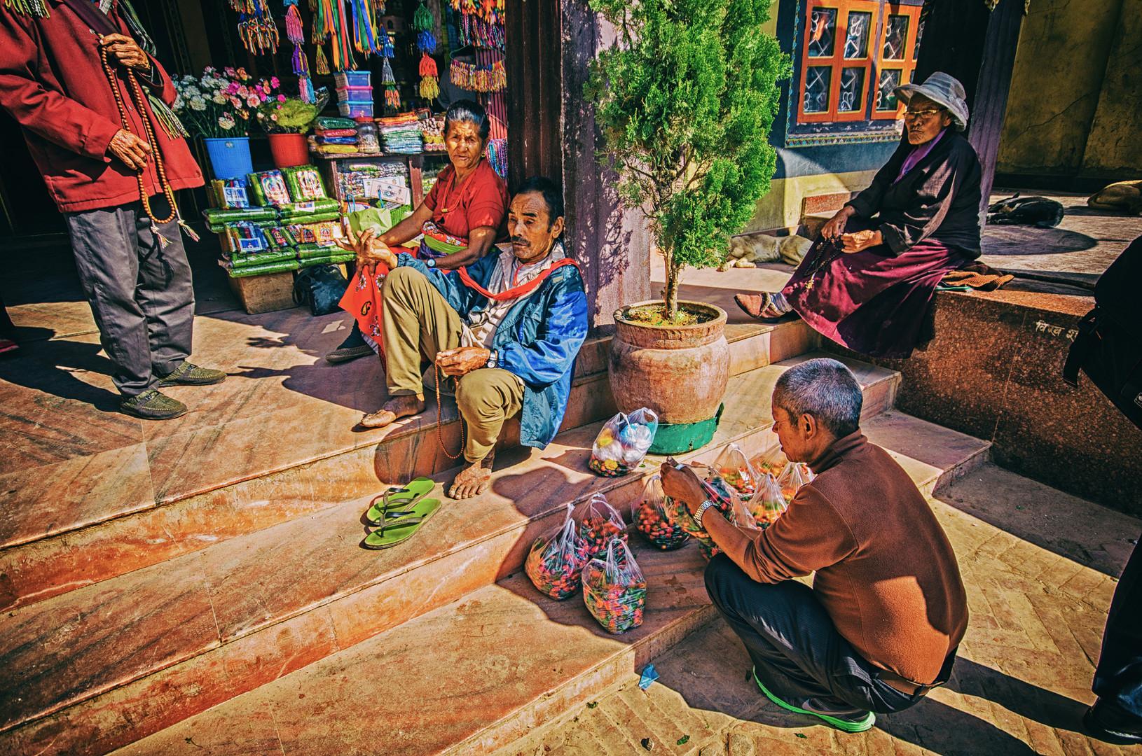 Ljudi Katmandua