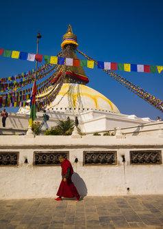 petarlackovic Tibetanski monah u Katmanduu