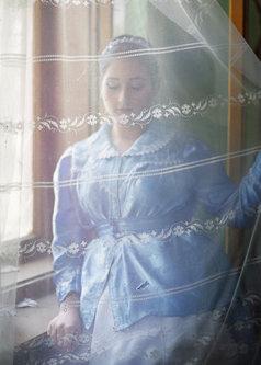 petarlackovic Devojka u plavom