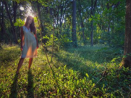 sarmeun Forest girl