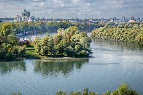 vemapn Kalemegdan pogled na reke 1216